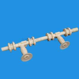 华恒 生物滤池用单孔膜曝气器管式曝气器 齐全