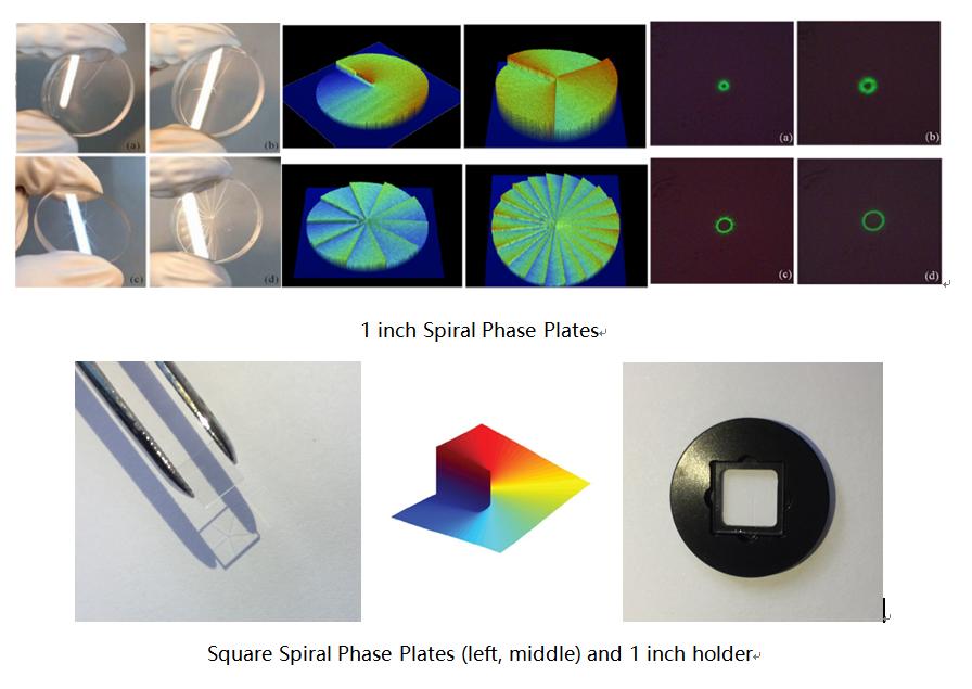 Spiral Phase Plate, Vortex Phase Plate