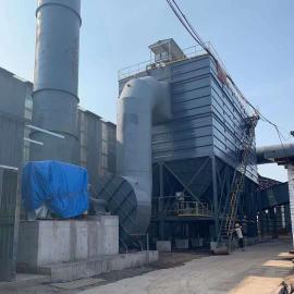 首阳环保20T锅炉脱硫脱硝设备改造方案使用前后效果SY-136