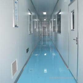 河南速冻食品厂净化装修
