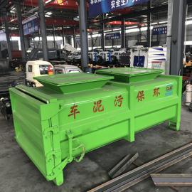 东风牌粪污运输车环保达标的装10吨12吨禽畜粪便自卸式垃圾清运车