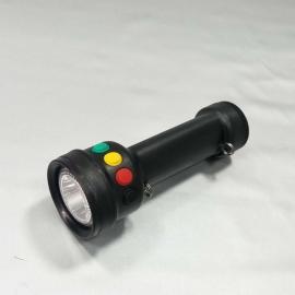 言泉RWX4760手持多功能袖珍信号电筒LED红黄绿白四色调车灯