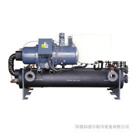 科迪尔挤出胶粒冷却机用风冷工业冷水机造粒切粒机用80匹水循环冷水机LT-80W匹螺杆式机
