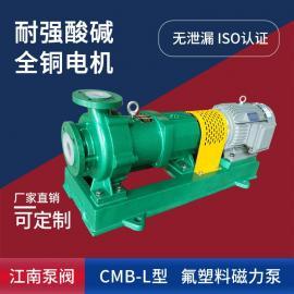 江南(AHJN)江南氟塑料衬里耐酸磁力泵CMB100-80-160L