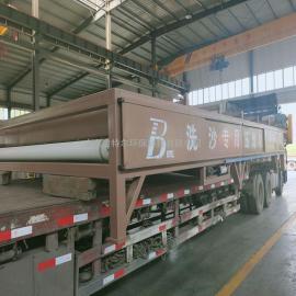 贝特尔生产洗沙场污泥脱水机 带式压滤机 操作简单 品质优RBYL