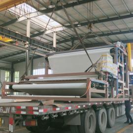 贝特尔现货沙场污泥脱水设备 带式压滤机 运行平稳 操作简单RBYL