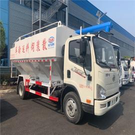 东风天龙运料车整车30方15吨猪饲料罐装车2020年款