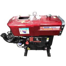 玉柴15马力单缸柴油机参数型号YC1100