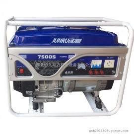 汽油发电机 家用6.5千瓦发电机380v