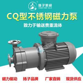 扬子(YANGZI)CQ型化工磁力泵 耐碱泵 耐酸碱 耐腐蚀 零泄漏40CQ-20