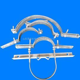 电力金具 不锈钢卡箍抱箍 光缆杆用固定金具