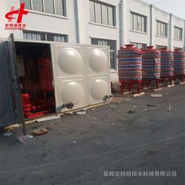 生活箱泵一体化供水设备 HDXBF-144-150-60-II 宏帅给排水