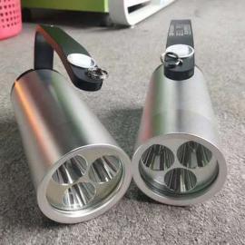 言泉���BJ631A充��p功率手提式防爆探照��LED消防救�姆姥��急照明