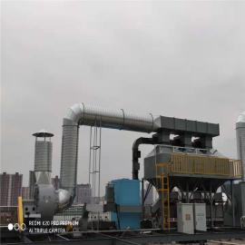 立科�h保活性炭吸附�b置 催化燃��LK002