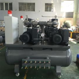 BECKERBecker�克干式真空泵VT4.16 �o油干式旋片真空泵系�y定制KVT3.140