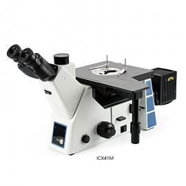 SOPTOP 三目明暗场倒置金相显微镜 ICX41M