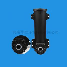 华恒旋流曝气器整套安装 镀锌管到 不锈钢立管齐全