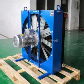 JIAN YI剑邑大流量耐高压风冷式油冷却器 OK-EL9L高功率型液压风冷却器ELB-9-A3