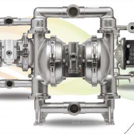 ARO英格索兰FDA卫生级气动隔膜泵 医药专用泵 316L 1寸口径SD10S-CSS-STT-B00