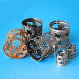 ST废气净化塔二氧化碳脱硫塔专用填料 不锈钢鲍尔环填料38mm