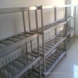 不锈钢三层货架