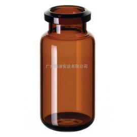 赛默飞货号C4020-36A20mm顶空样品瓶和密封塞,蓝色硅胶隔垫,磁性压接盖,8mm孔