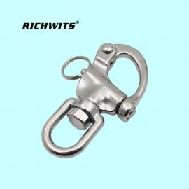 RICHWITS齐翼航 不锈钢316圈式旋转弹簧卸扣70mm