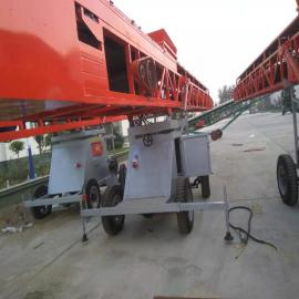 伟业粮机旋转伸缩输送机 大型转向伸缩传送机 矿用带式输送机NJ型