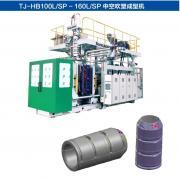 电杆防撞桶加工设备 塑料中空成型机TJ-HB160L/SP通佳