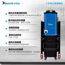 凯达仕(QUEDAS)120L大型分离式脉冲振尘工业吸尘器塑料车间清理用集尘器IV-4012M