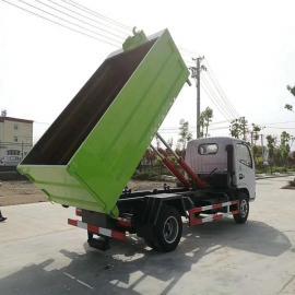 东风8吨拉泥浆车 运输8吨污泥自卸式垃圾清运车3方垃圾车