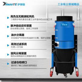 凯达仕(QUEDAS)移动式工业金属粉尘地面灰尘集尘器工业脉冲反吹大功率吸尘器IV-7515M