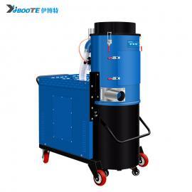 凯达仕(QUEDAS)金属机头式干湿两用型上下桶可分离式380V三相电工业吸尘器IV-5515M