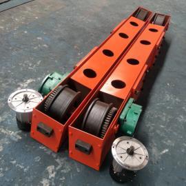 澳尔新起重机挂板端梁 悬挂端梁头LD300轮 长2米