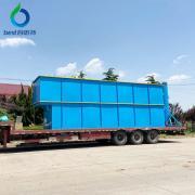 百思特气浮过滤一体机 集装箱清洗废水处理设备062
