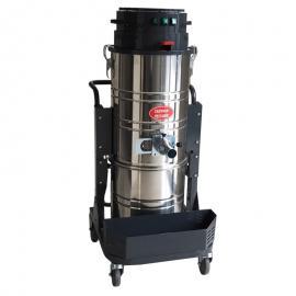 德克威诺旋风分离式上下桶工业吸尘器用于车间打扫卫生吸锯末尘土铁屑S301
