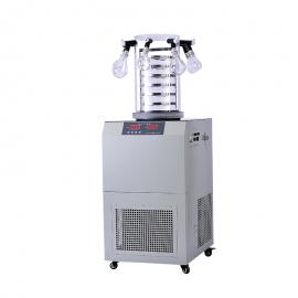 Leewen-80度真空冷冻干燥机 多歧管挂瓶冻干机FD-1C-80