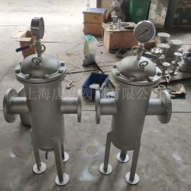 唐功304不锈钢精密 袋式机械 水处理篮式过滤器 工业环保过滤器TGBL