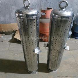 唐功TG工业管道消音器 蒸汽 空气 气体小孔复合式消声器