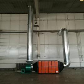 众鑫兴业淬火工件加工真空泵冷镦油雾净化器 环保设备热处理废气净化ZX-FQ