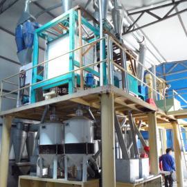 泰兴玉米深加工产业链,玉米磨粉设备配置,玉米脱皮制糁机齐全