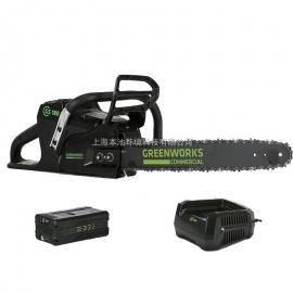 格力博82V电锯greenworks大功率80V电动伐木锯无刷锂电链锯总代