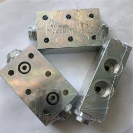 OLEOWEB意大利进口随车吊支腿G3/8管螺纹板式液压锁VRDF3801170