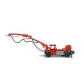 鑫通机械工程底盘混凝土湿喷机械手用于引水工程HP2