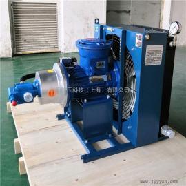 剑邑牌矿用煤安MA型减速机油冷却系统 安标型风冷式油冷却器ELZX-6-A6