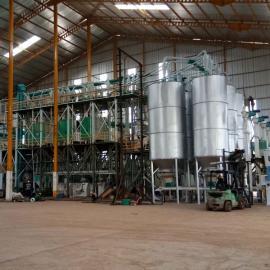 泰兴玉米脱皮制糁机组,加工玉米渣子的生产线配置齐全