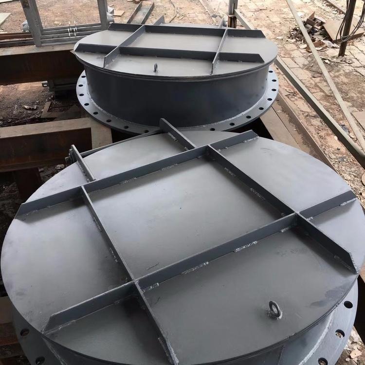 钢制拍门 钢制圆拍门 免费安装dn1000