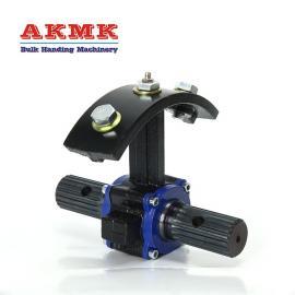 AKMK273钢吊轴螺旋吊挂输送机铝吊轴输送配件螺旋悬挂吊架XLY045H030