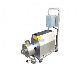 富瑞康移动式单级高剪切乳化泵管线式剪切乳化均质泵高速混合剪切泵SRH-1