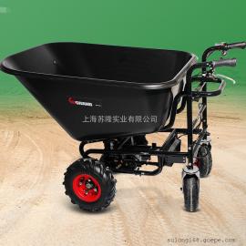 KM GRAND锂电电动手推四轮搬运车 充电式电动运输车48V